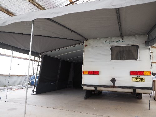Cool  Extension Jayco Expanda Caravan Annex With Front Rear Extensions