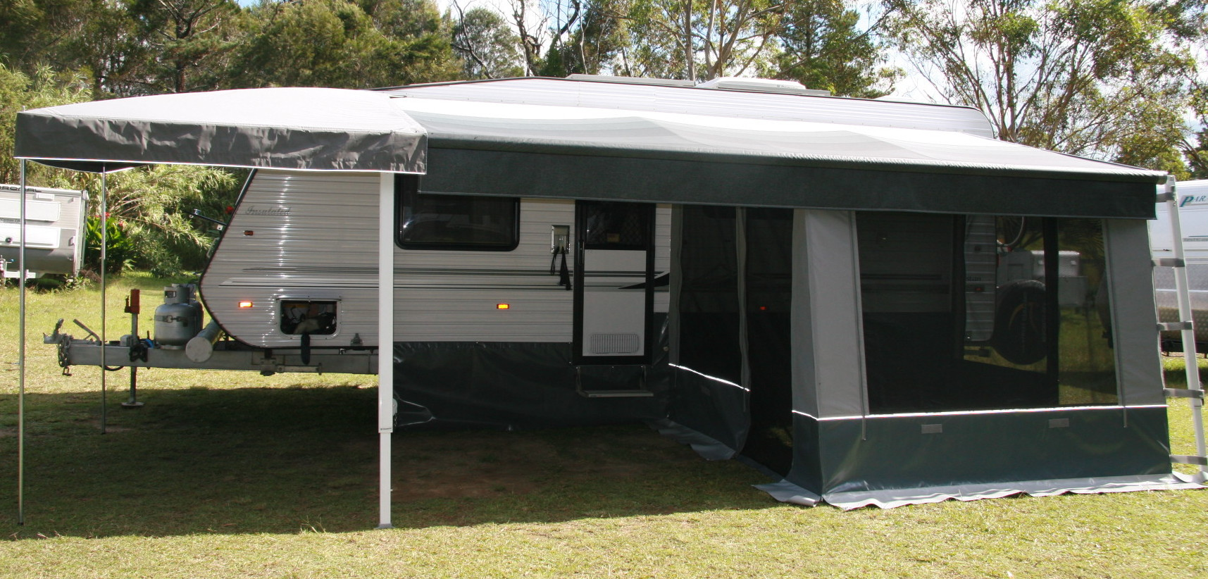 DIY Rollout Awning Walls Measure Sheet Caravan Draft Skirt